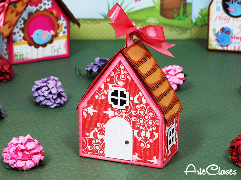 Manualidades De Cartulina Y Papel Mini Casita Decorativa